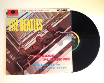 25% OFF Rare Late Pressing LP The Beatles Please Please Me Vinyl Record Album 1995 Anna Boys