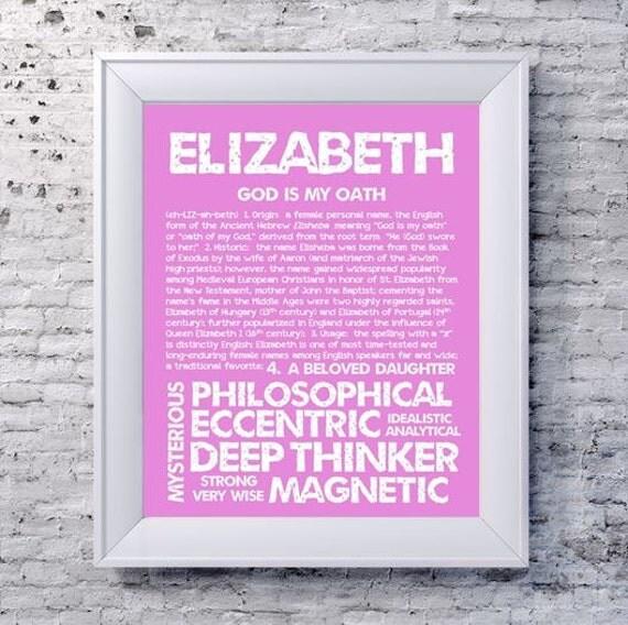 Numerology Name Elizabeth 1