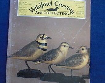 Wildfowl Carving and Collecting magazine Fall 1995 Wood carving publication Very good.