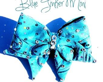Mini blue tinker on clip