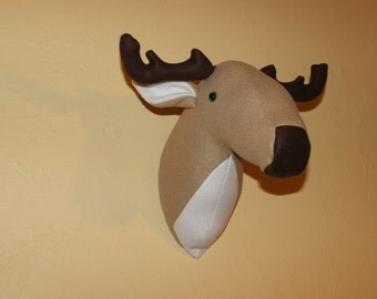 Unique Stuffed Animal Head Related Items Etsy