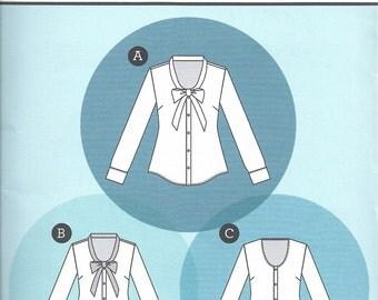 Sewaholic Oakridge Blouse Pattern-- Sewaholic 1502-- Blouse Sewing Pattern Sizes 0-20