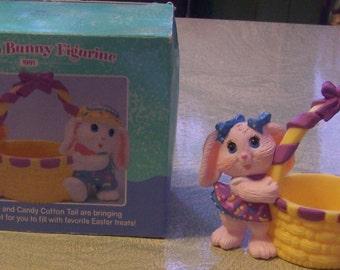 Vintage 1991 Hallmark Crayola Bunny Figurine in original box