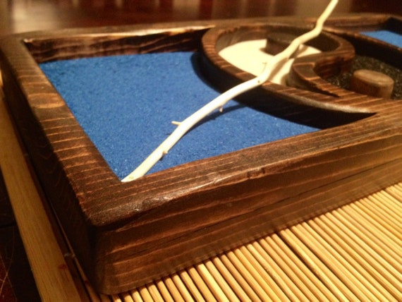 Tabletop zen garden kit for Table zen garden