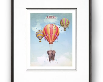 Daydreaming Personalized Art Print