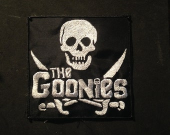 """Goonies 4""""x4"""" Canvas Backed Nylon Patch"""