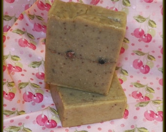 2 Bars of Citrus Splash Soap,Vegan, no articifial colors, no preservatives, all natural soap