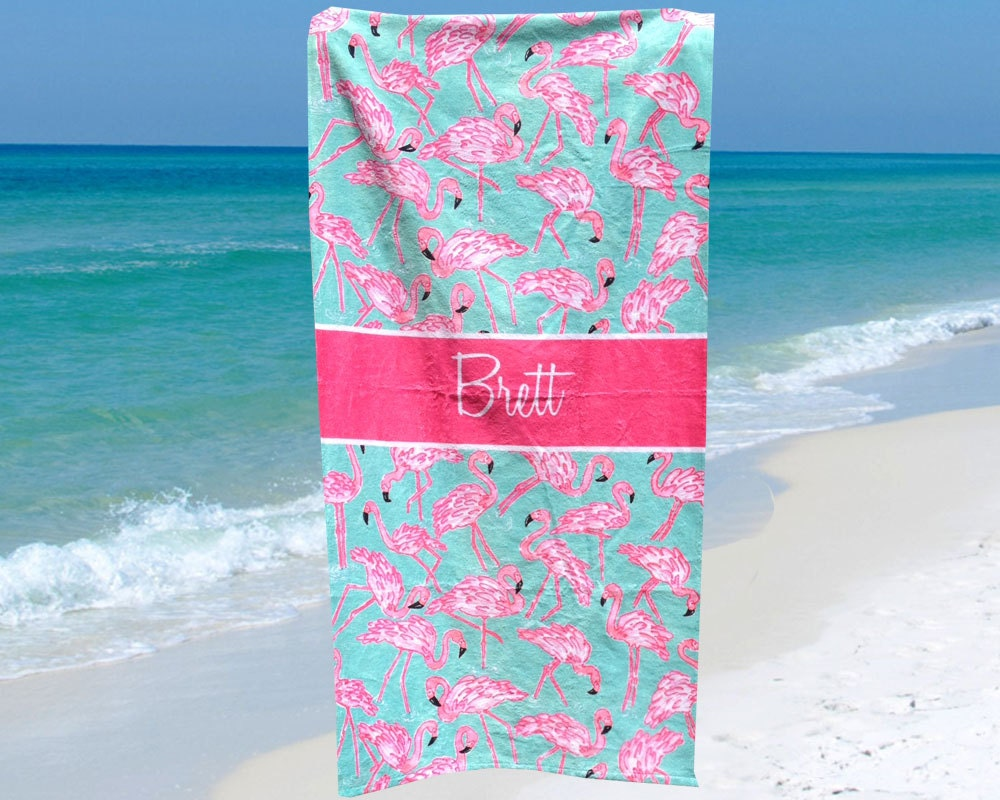 Beach Towel Personalized Bridesmaid Gifts With Name