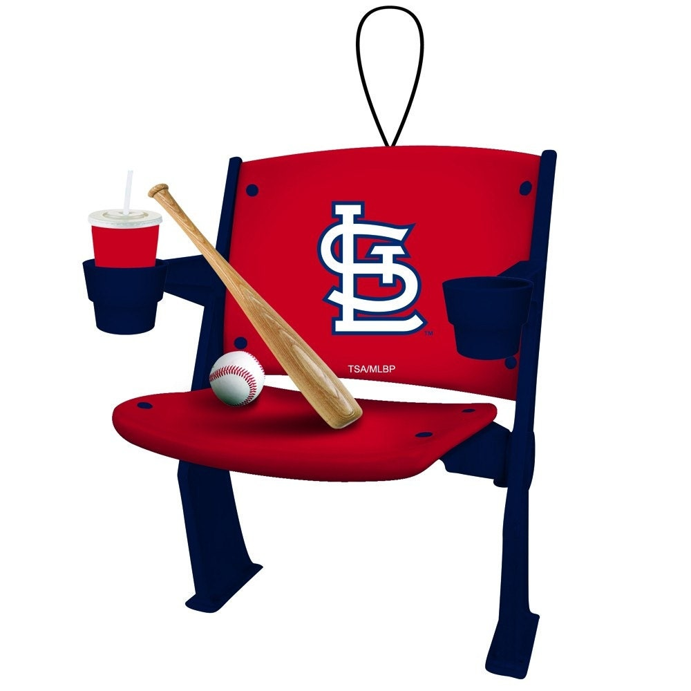 St Louis Cardinals Chair Ornament By SPORTSFANHEAVEN On Etsy