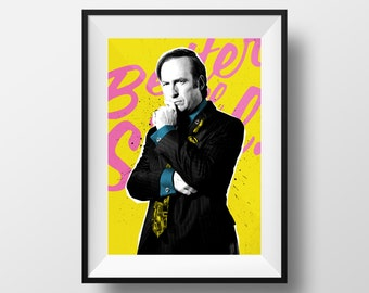 Better Call Saul - Saul Goodman Breaking Bad Art Print