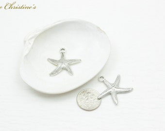 Elise - 6 DIY Charm Party Pack - Starfish Charm from the Vivian Sea & Beach Collection  - TZZ010272