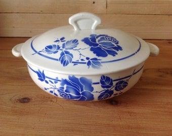 Vintage porcelain MDL France Hamage RIGOBERT C tureen