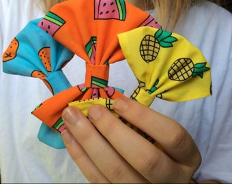 Picture Pineapple, Watermelon and Orange Bows! Purchased Separately