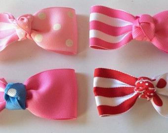 Toddler Tuxedo Bow
