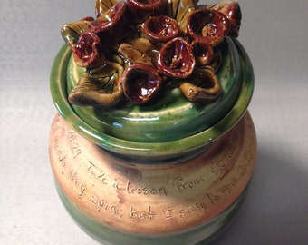 "7"" Matthew 6:28-29 Scripture Jar"