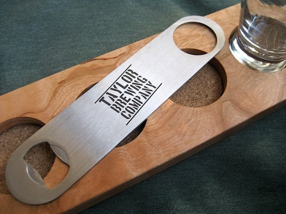 Engraved Bottle Opener Stainless Steel Opener Beer