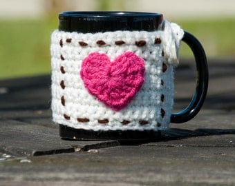 Crochet Coffee Cup Beverage Insulator, Coffee Cup Sleeve, Coffee Cup Jacket, Can Cooler, Beverage Insulator, Coffee Cup Warmer, Mug Warmer