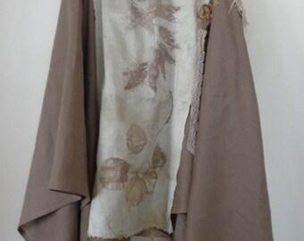 top, blouse, EcoPrint
