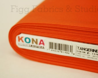 KONA Cotton in Tangerine (Color 1370)