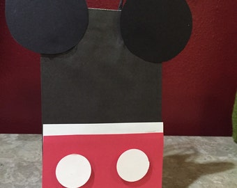 Mickey Mouse Treat Bag