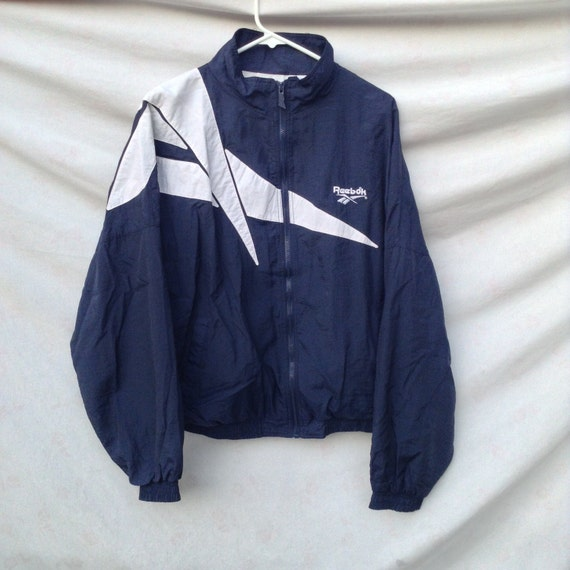 vintage veste reebok made in taiwan taille m