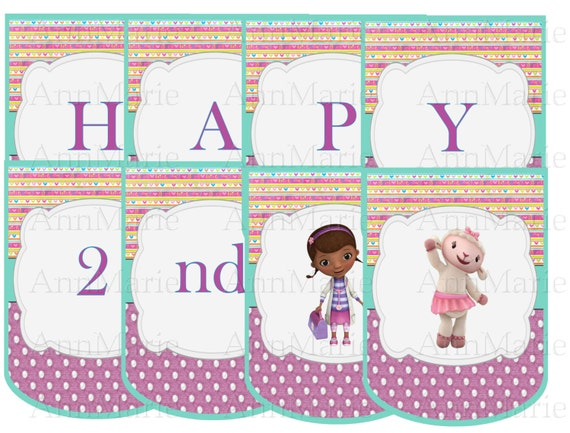Doc Mcstuffins Cake Decorating Kit : Doc Mcstuffins Inspired Party Decoration Kit Doc by ...