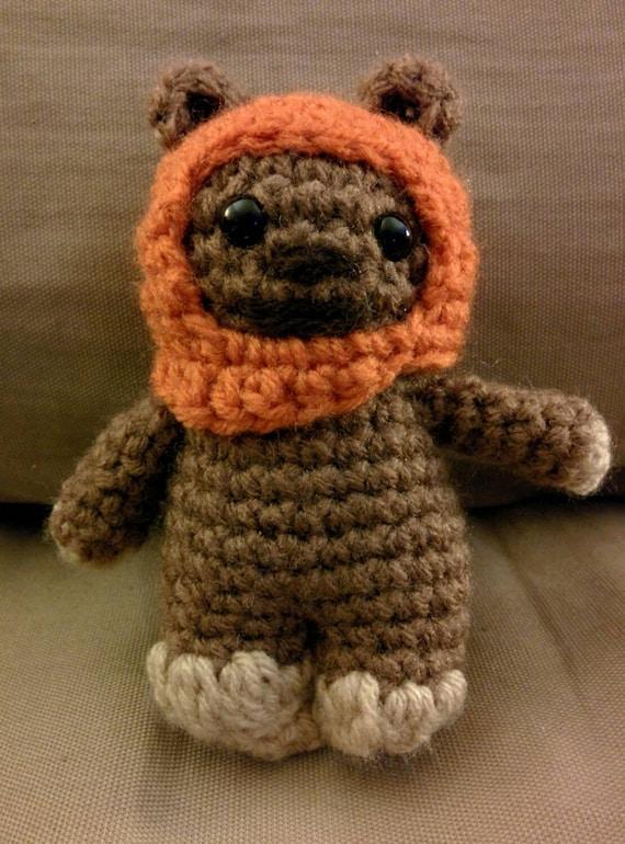 Star Wars Ewok Crocheted Amigurumi