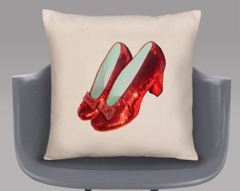 Ruby Slippers Cushion Cover
