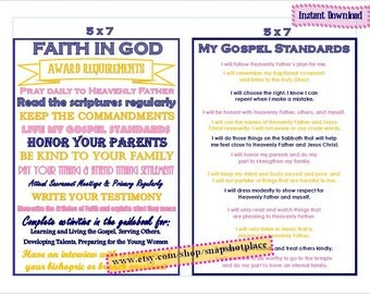 Faith In God Award Requirements & Gospel Standards