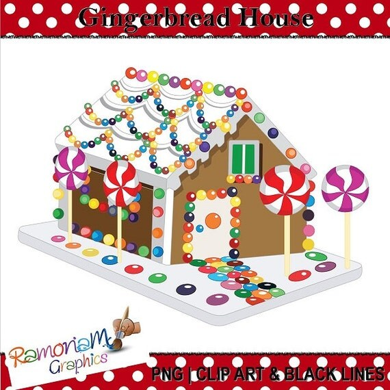 free gingerbread house clipart - photo #48