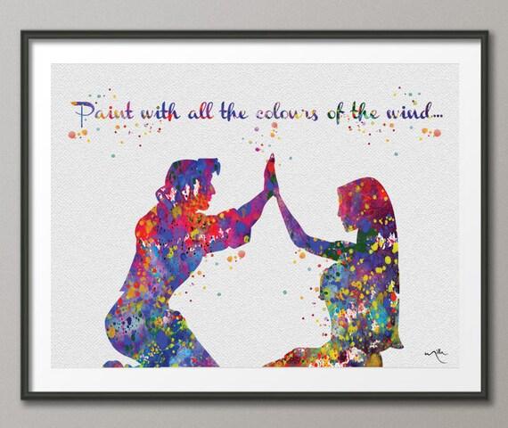 pocahontas john smith quote love disney princess by cocomilla