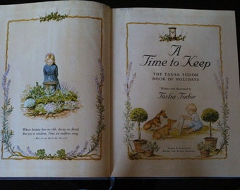 "1977 First Edition ""A Time to Keep"" by Tasha Tudor"