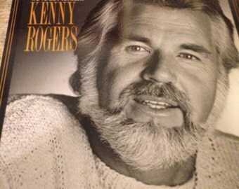 Collectible Kenny Rogers Vinyl Record 'We've Got Tonight'