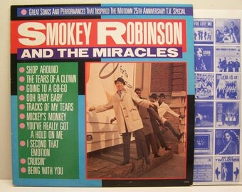 Smokey Robinson & the miracles / 25th anniversary T.V.Special On Motown# 5316ml
