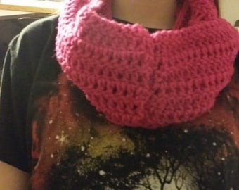 pink infintiy scarf