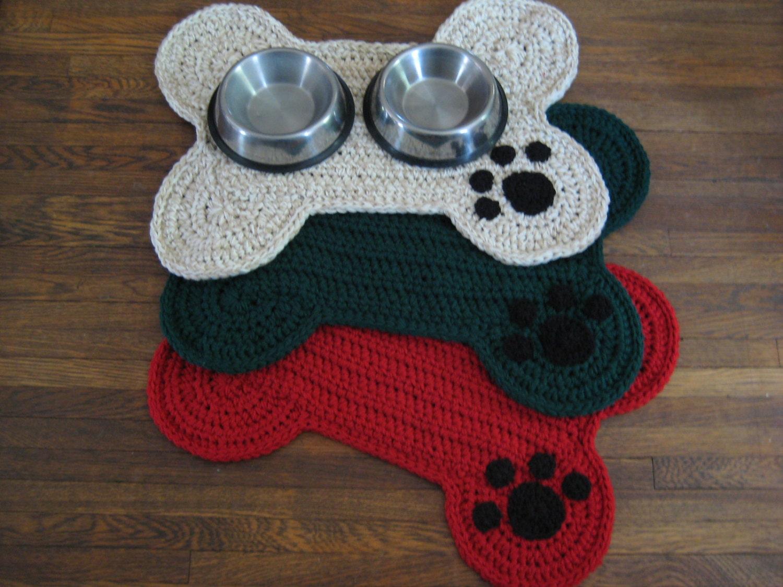 Dog Food Rug