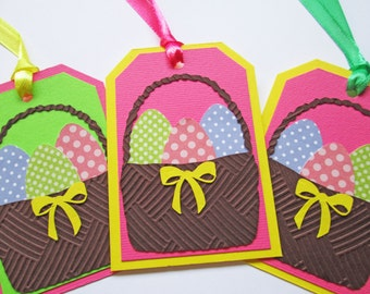Easter Gift Tags, Happy Easter Tags, Easter Basket Tags, Easter Favor Tags, Easter Hang Tags, Easter Egg Tags, Easter Eggs