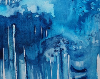 Original, One of a kind Watercolor Painting