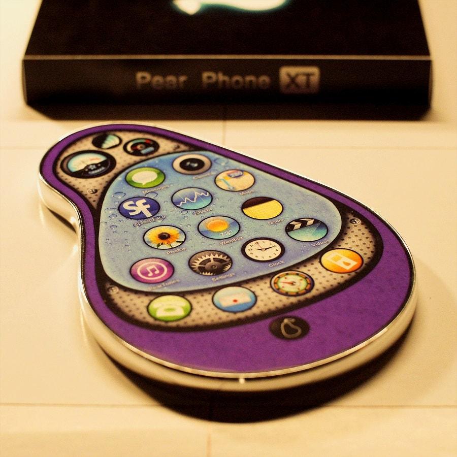 Purple Pear Phone