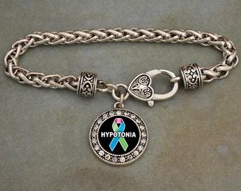 Hypotonia Awareness Clasp Bracelet