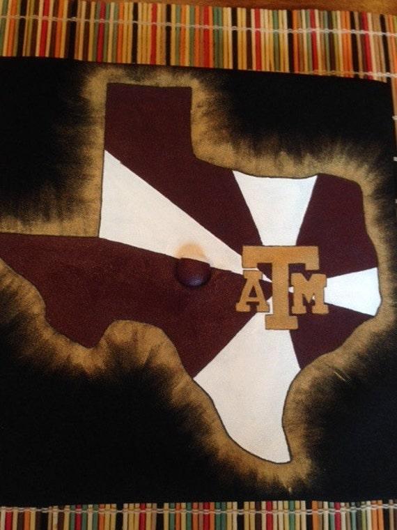 Items similar to Custom Texas A&M Graduation Cap/Mortar Board on Etsy