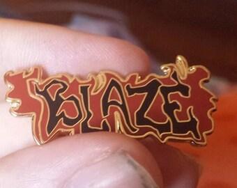 Blaze ya Dead Homie Heady hat pin
