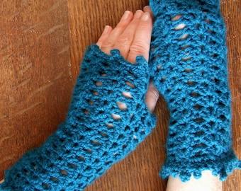 fingerless gloves 'iris'