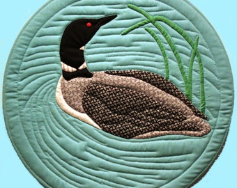 Canada Goose Quilt Pattern for 18 Finished Size : loon quilt pattern - Adamdwight.com