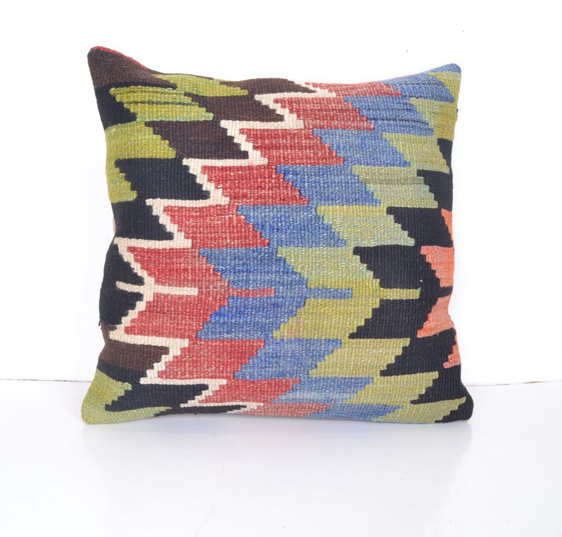 Very Large Decorative Pillows : Extra Large Pillow Cover Large Throw Pillow by SandyKilimPillow