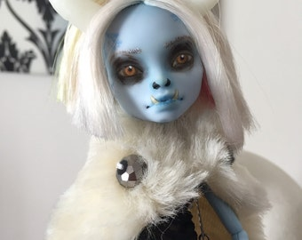 Dr.Travian Collection- BOLORMAA  (Monster High Custom Doll)