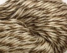 Tahki Tweedy Cotton Classic DK weight mercerized cotton yarn (417 brown, beige, tan)