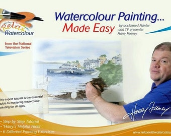 Watercolour Made Easy by Harry Feeney