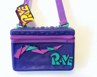 SALE SALE 90s Purple Plastic Rave Shoulderbag