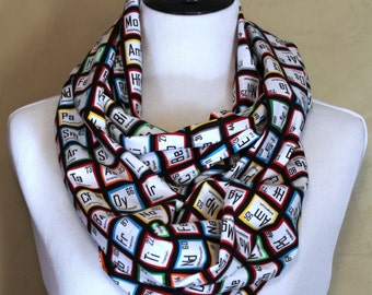 Have Good Chemistry? Periodically! Infinity Scarf